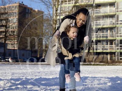 Fotoshoot Almere in de sneeuw