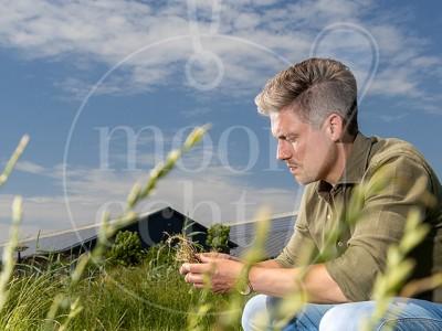 Fotoshoot veehouder en adviseur