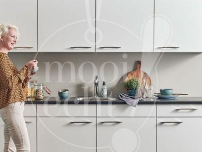 Fotoshoot nieuw keukenblok