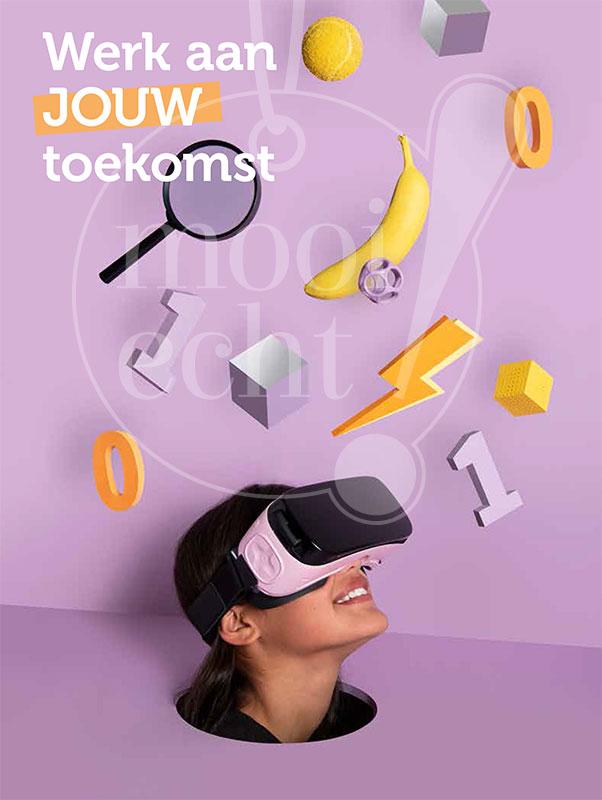 Fotoshoot voor nieuwe schoolbrochure ISW2