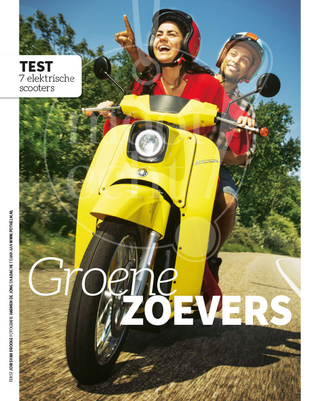 Coverbeeld scooter rijden in de duinen4
